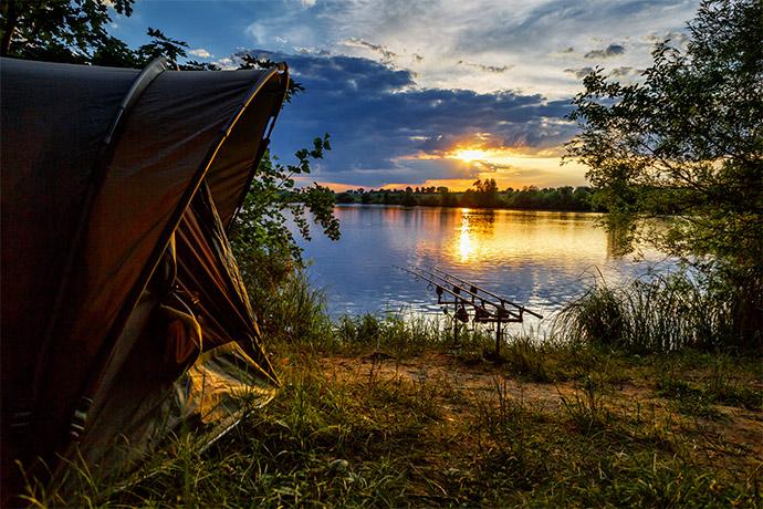 Pêche au plan d'eau courtavon